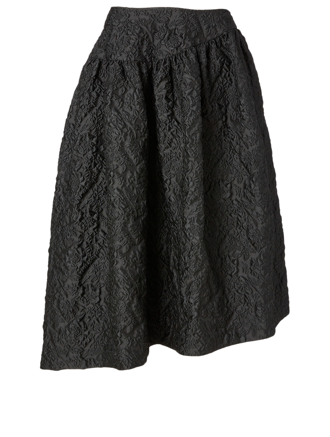 SIMONE ROCHA Asymmetric Midi Skirt Women's Black
