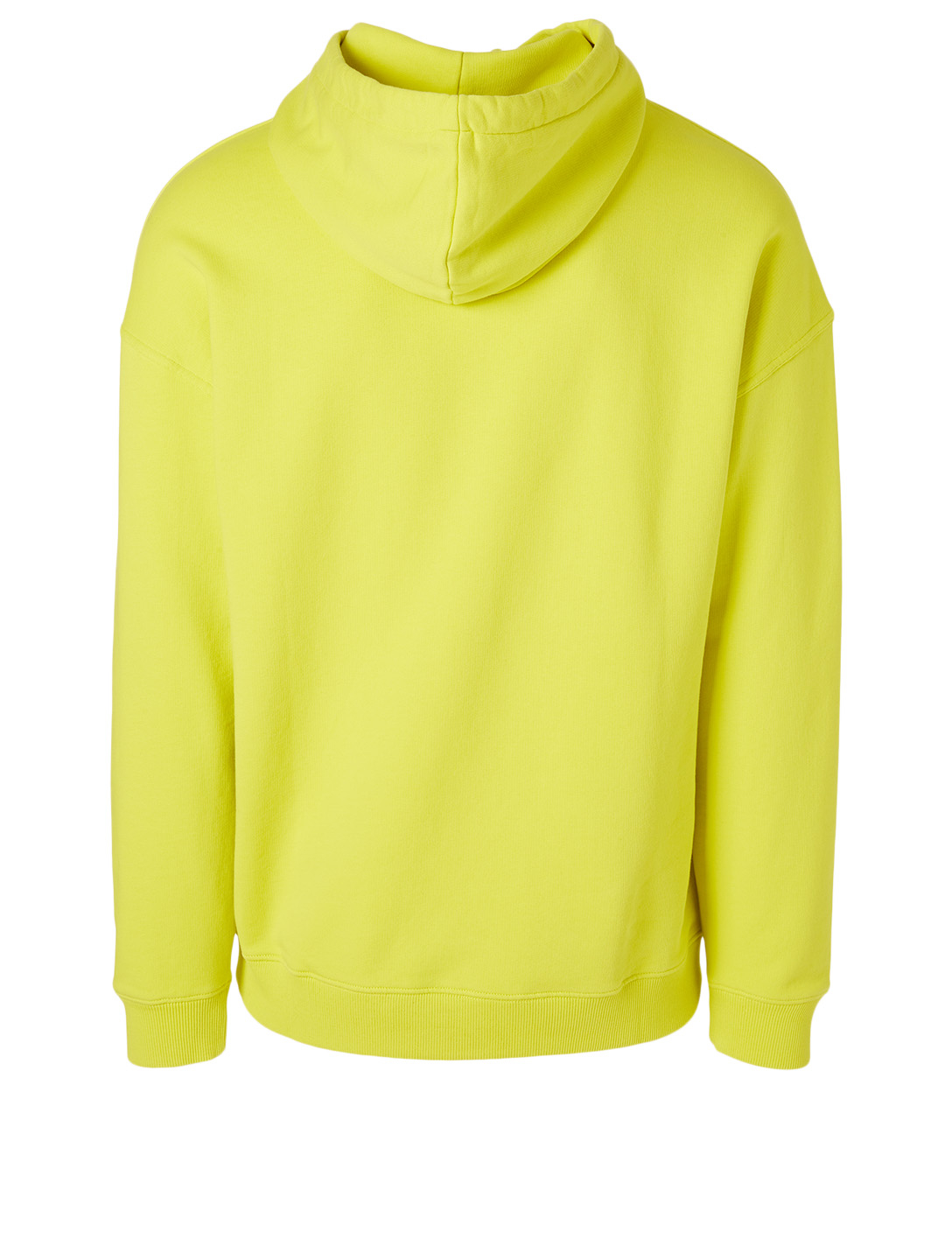 GIVENCHY Cotton Hoodie With Ring Logo Men's Yellow