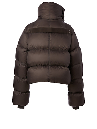 RICK OWENS Performa Mountain Duvet Down Jacket Women's Grey