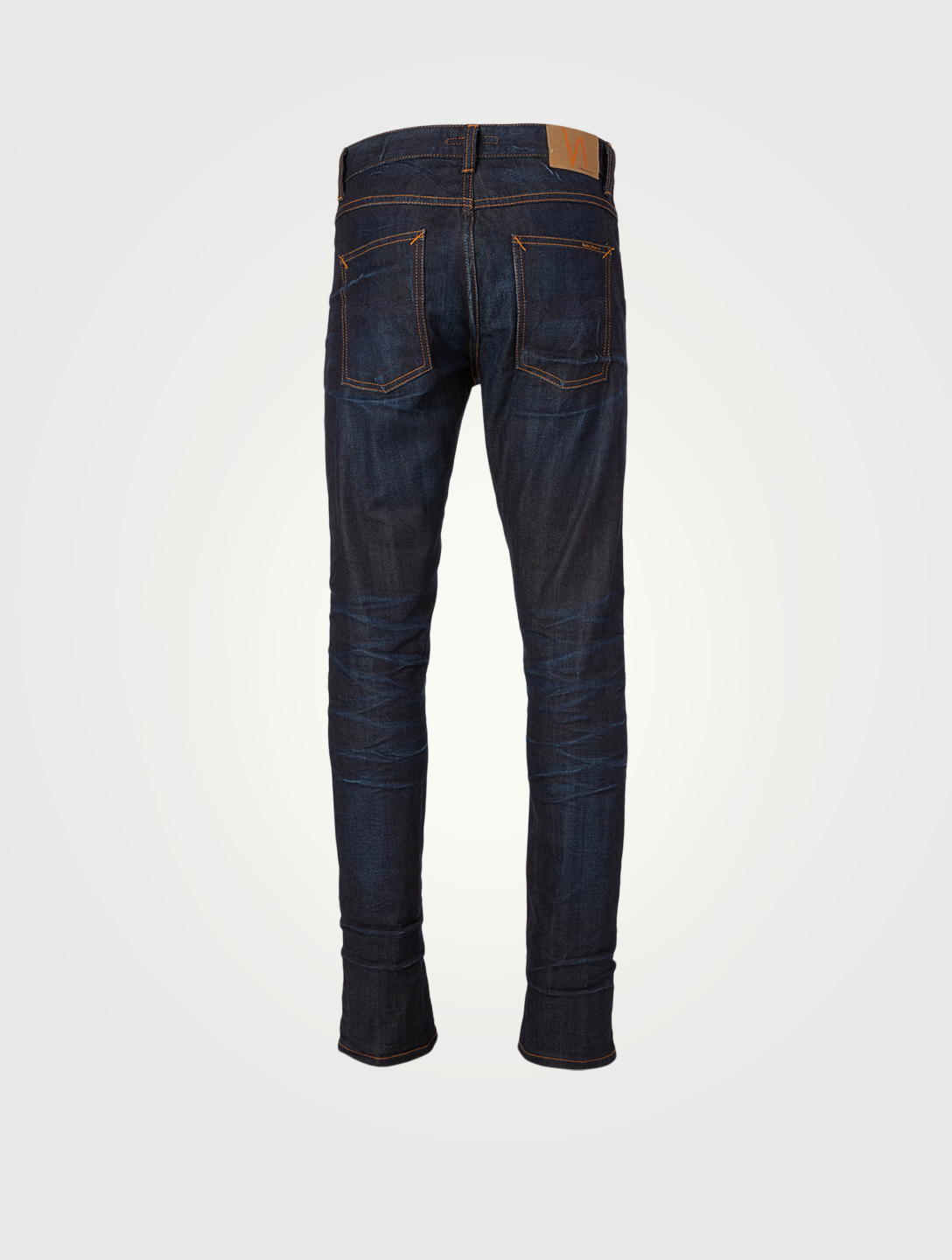 NUDIE Lean Dean Selvage Slim Jeans Men's Blue