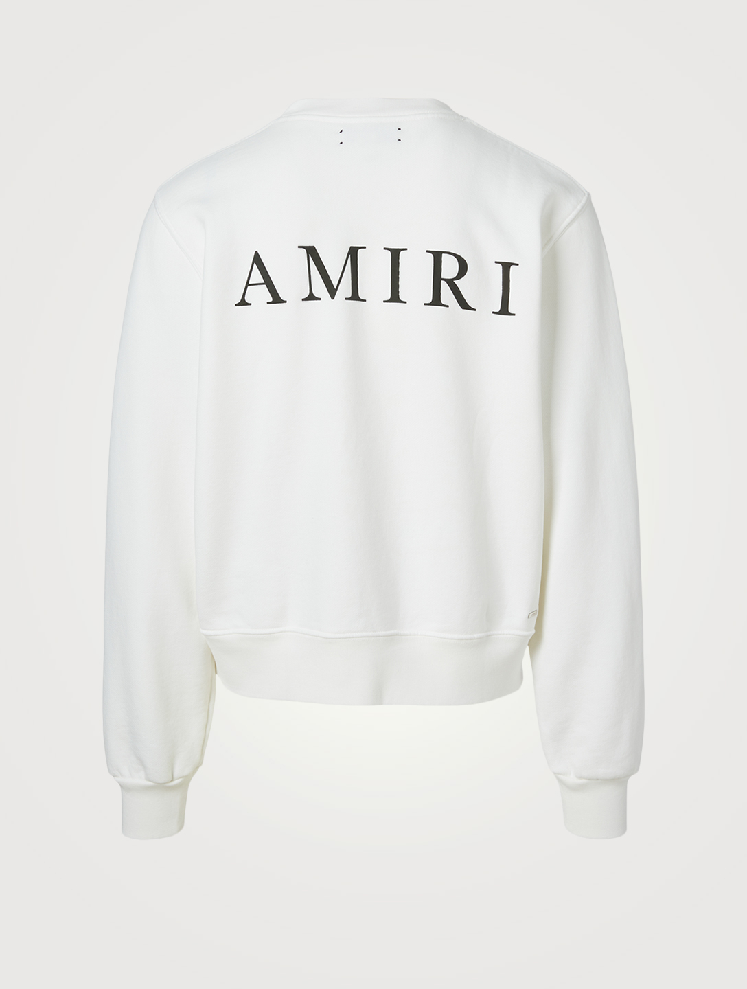 AMIRI Cotton Sweatshirt With Logo Men's White