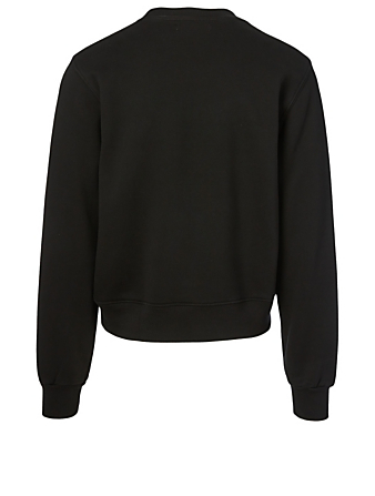 AMIRI Beverly Hills Cotton Sweatshirt With Logo Men's Black