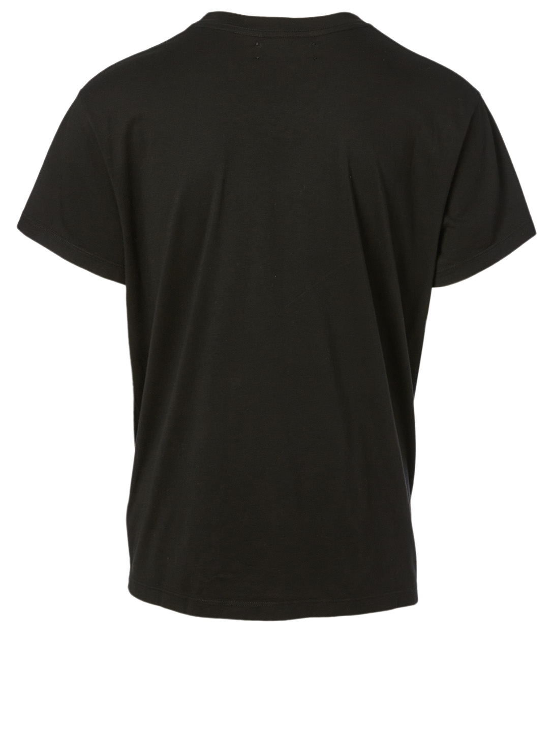 AMIRI Beverly Hills Cotton T-Shirt With Logo Men's Black