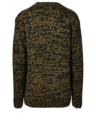 DRIES VAN NOTEN Mick Wool And Alpaca Cardigan Men's Beige