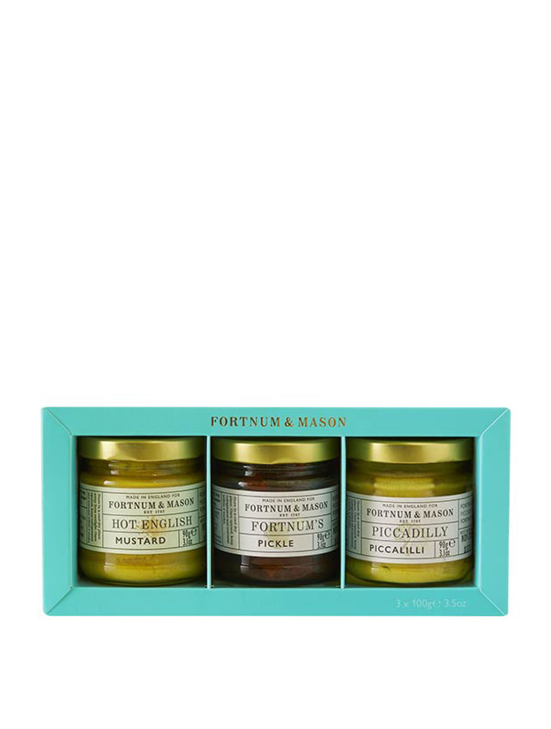 FORTNUM & MASON Condiment Trio Taster Gift Pack Gifts