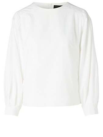 BIRGITTE HERSKIND Bibi Recycled Cotton Top Women's White