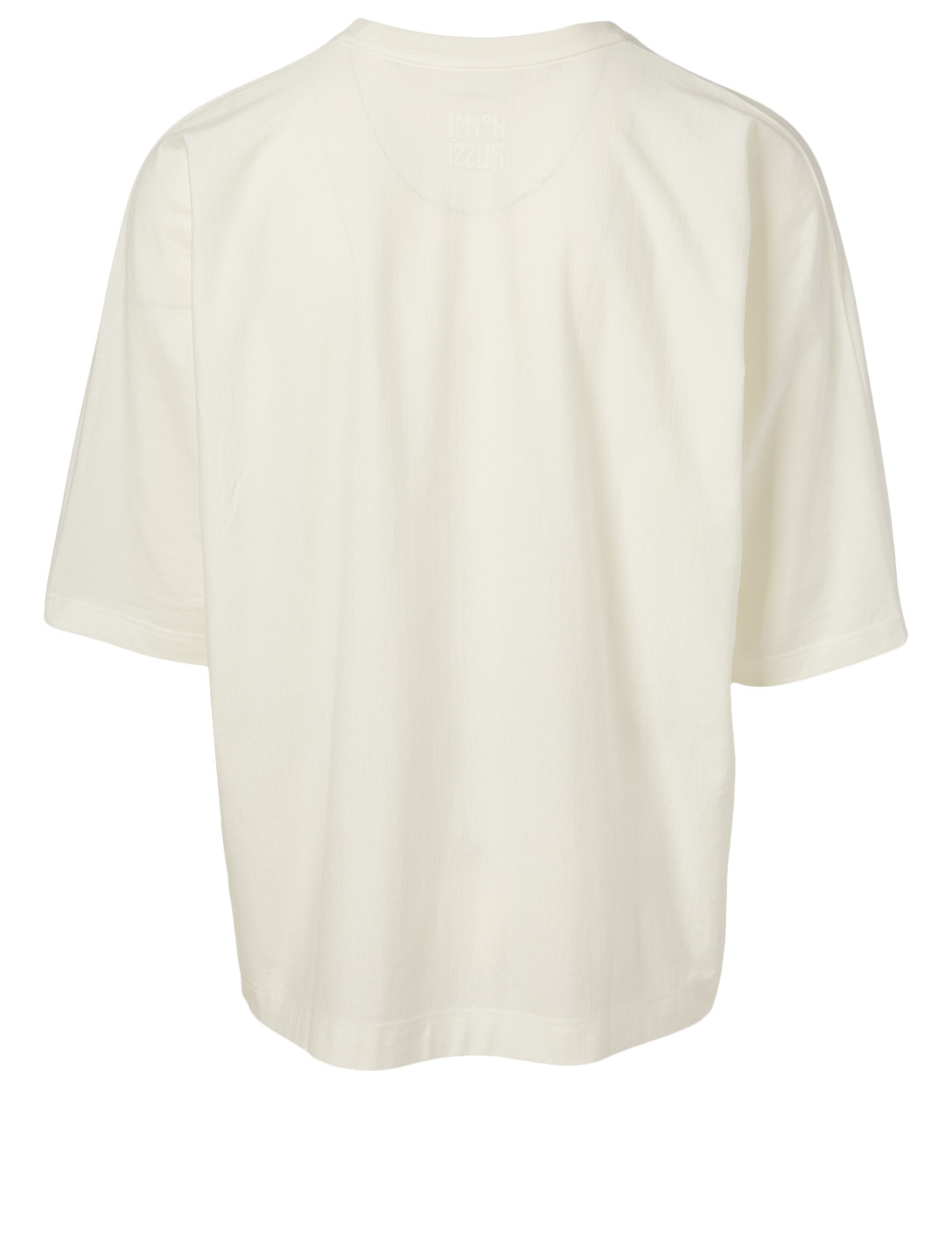ISSEY MIYAKE Release-T Cotton T-Shirt Men's White