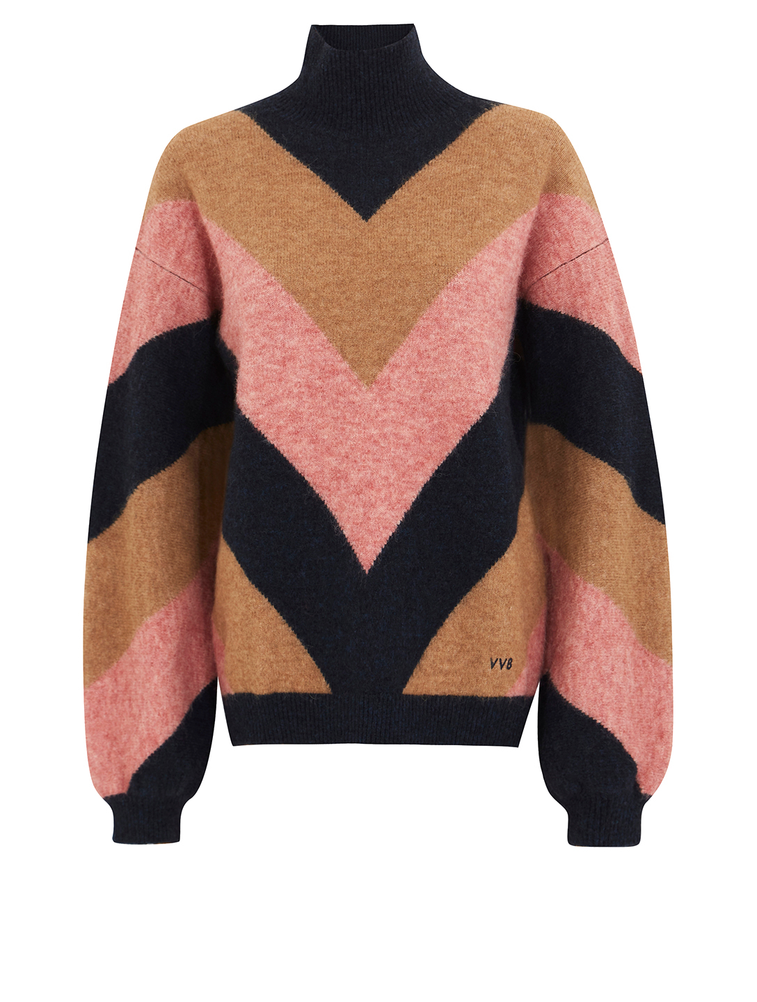 VICTORIA VICTORIA BECKHAM Alpaca and Wool Oversized Sweater Women's Multi