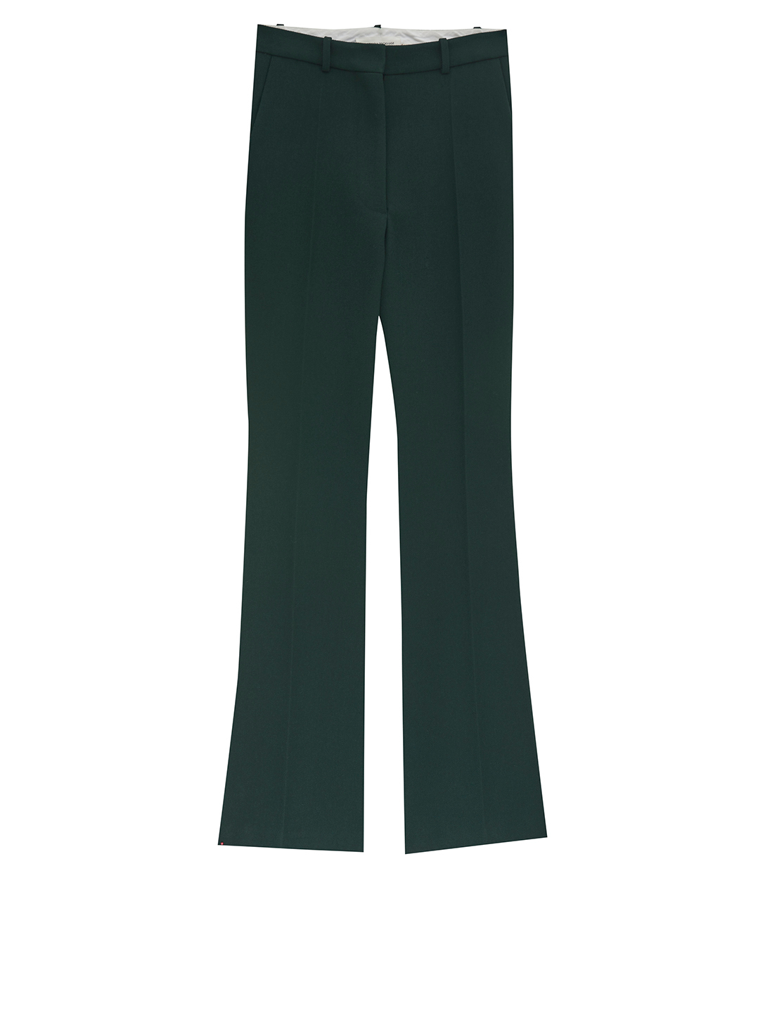 VICTORIA BECKHAM Wool Slim-Fit Pants Women's Green