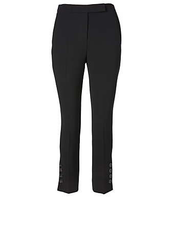 MAX MARA Nerina Cady Pants With Buttons Women's Black