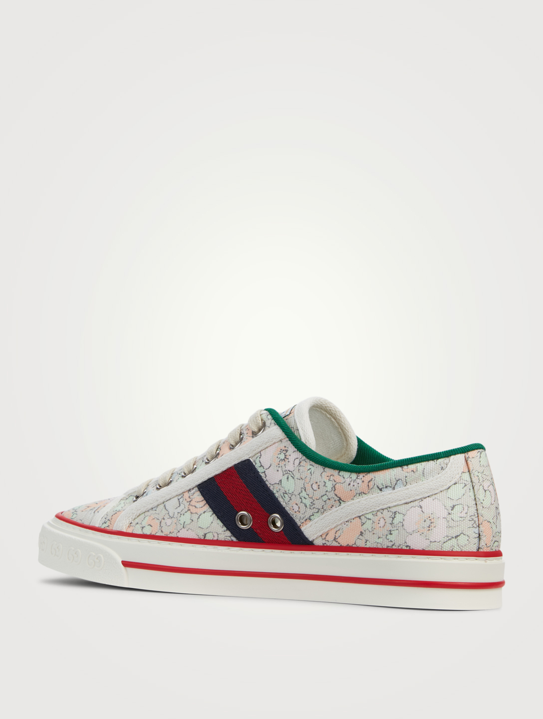 GUCCI Sneakers Tennis 1977 Liberty London en toile Femmes Bleu