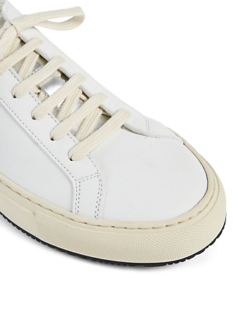 COMMON PROJECTS Retro Low Special Edition Leather Sneakers Women's White