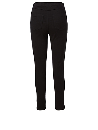 JOIE Andira Cotton Stretch Pants Women's Black