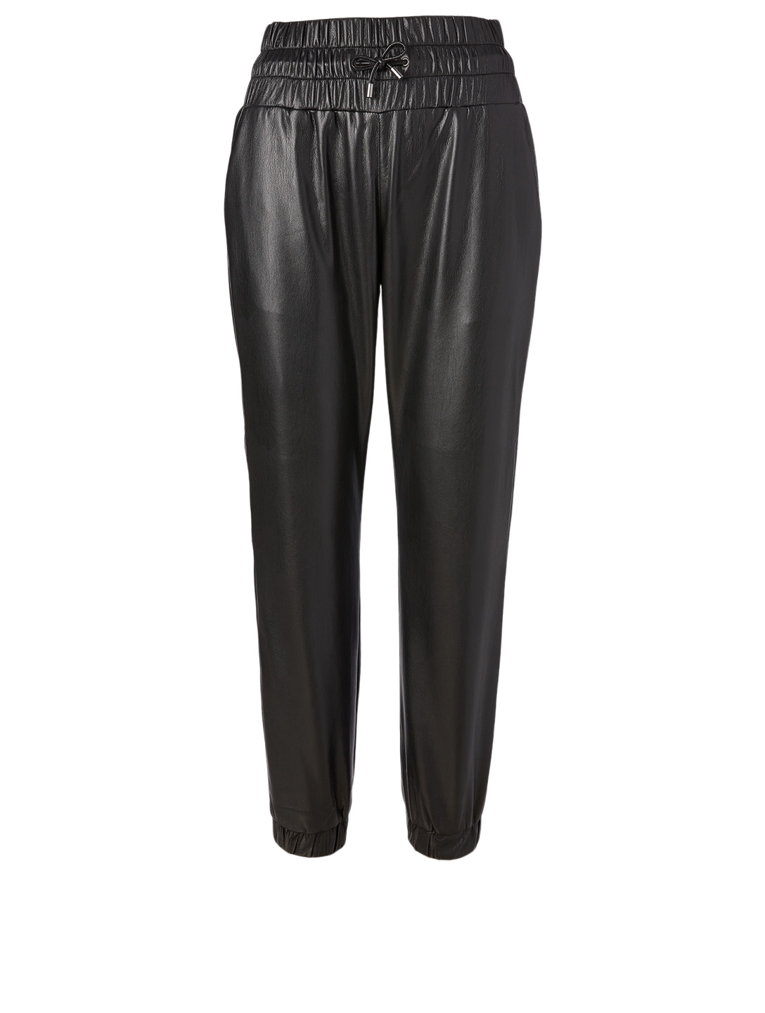 JOIE Wadley Faux Leather Pants Women's Black