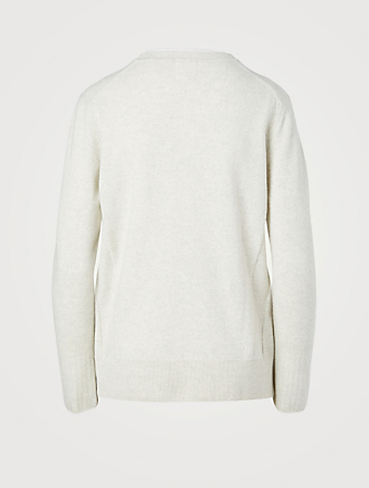 KUHO Wool And Cashmere Crewneck Sweater Women's Grey