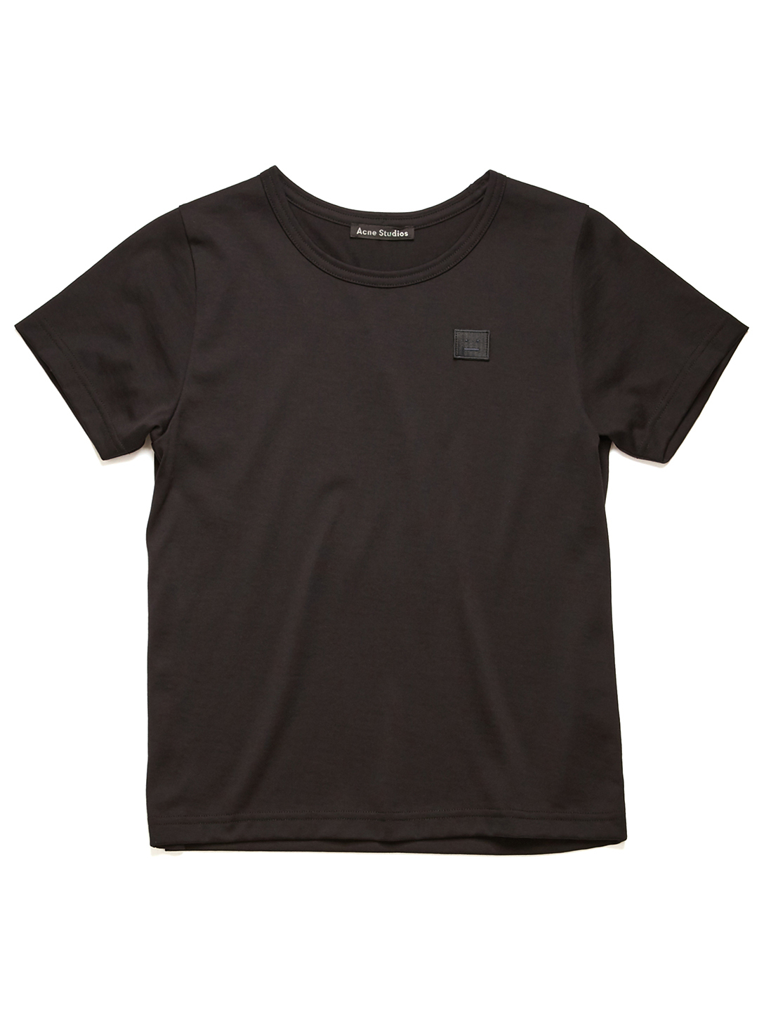 ACNE STUDIOS Tee-shirt Kids' Mini Nash Face en coton Enfants Noir