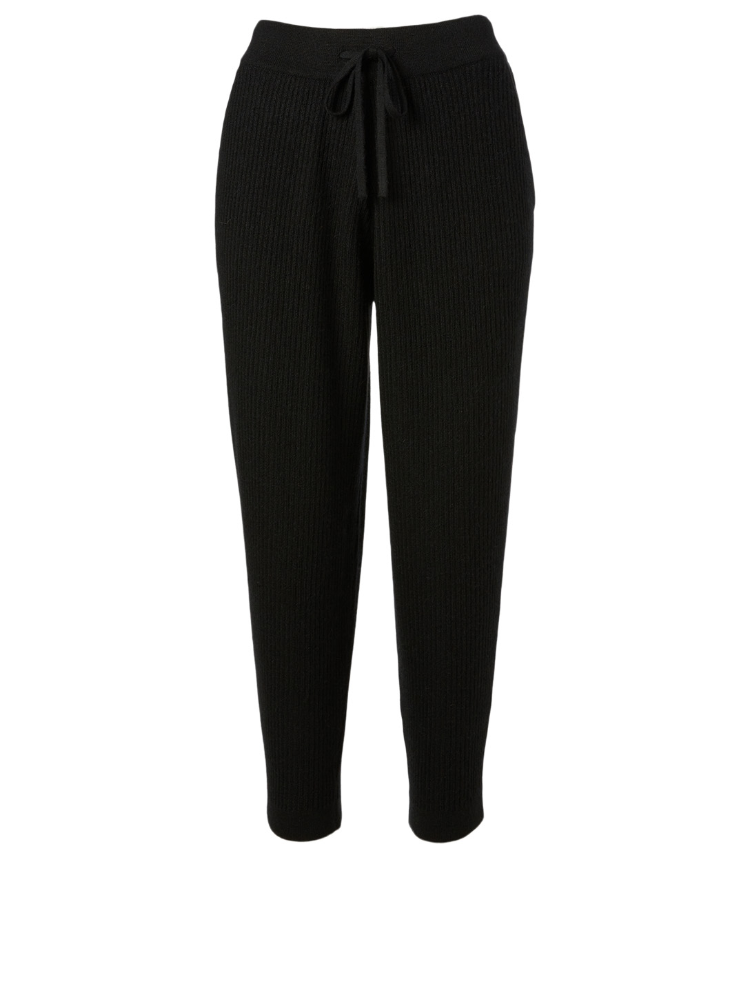 HANDVAERK Alpaca Ribbed Track Pants H Project Black