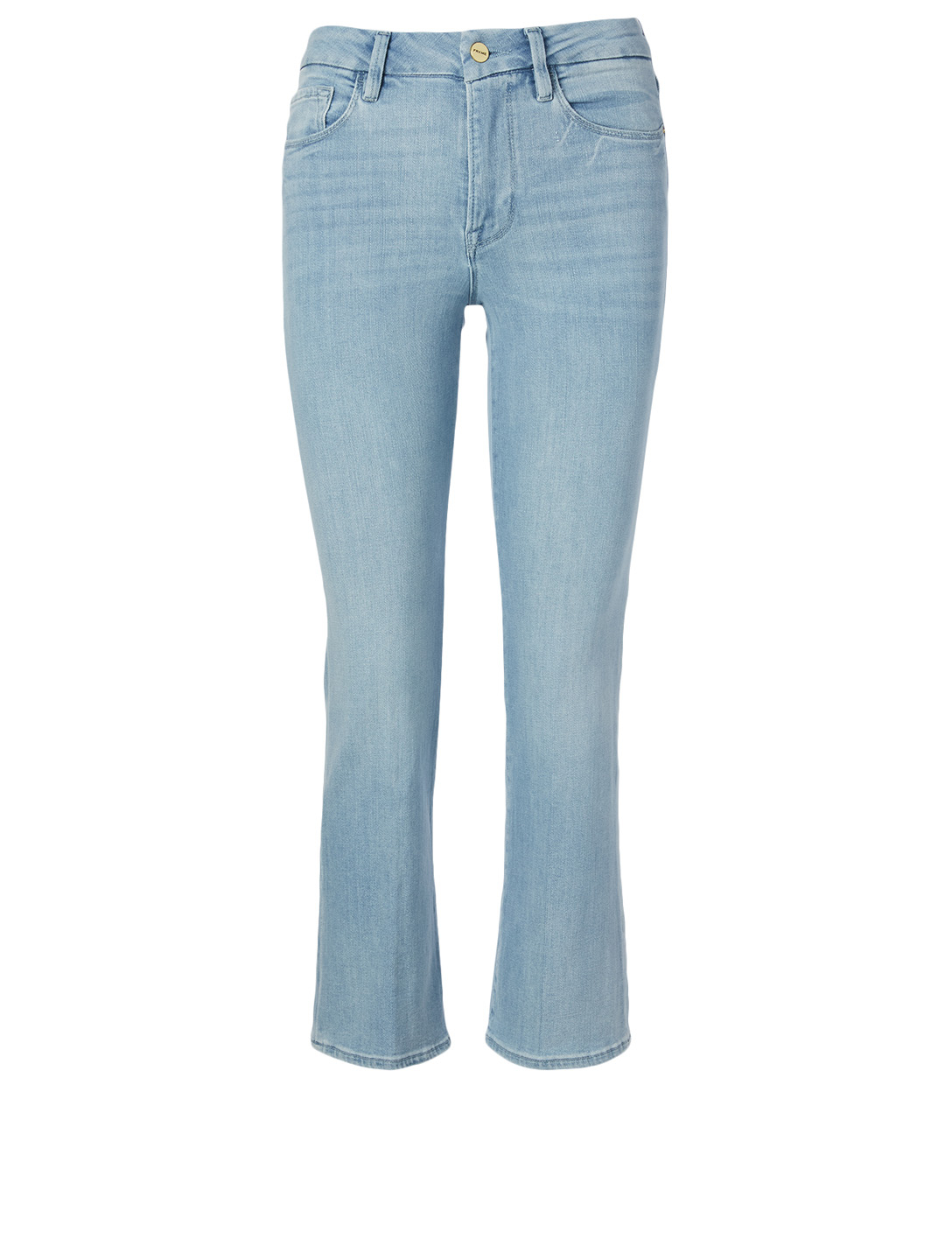 FRAME Le Crop Mini Boot Jeans Women's Blue