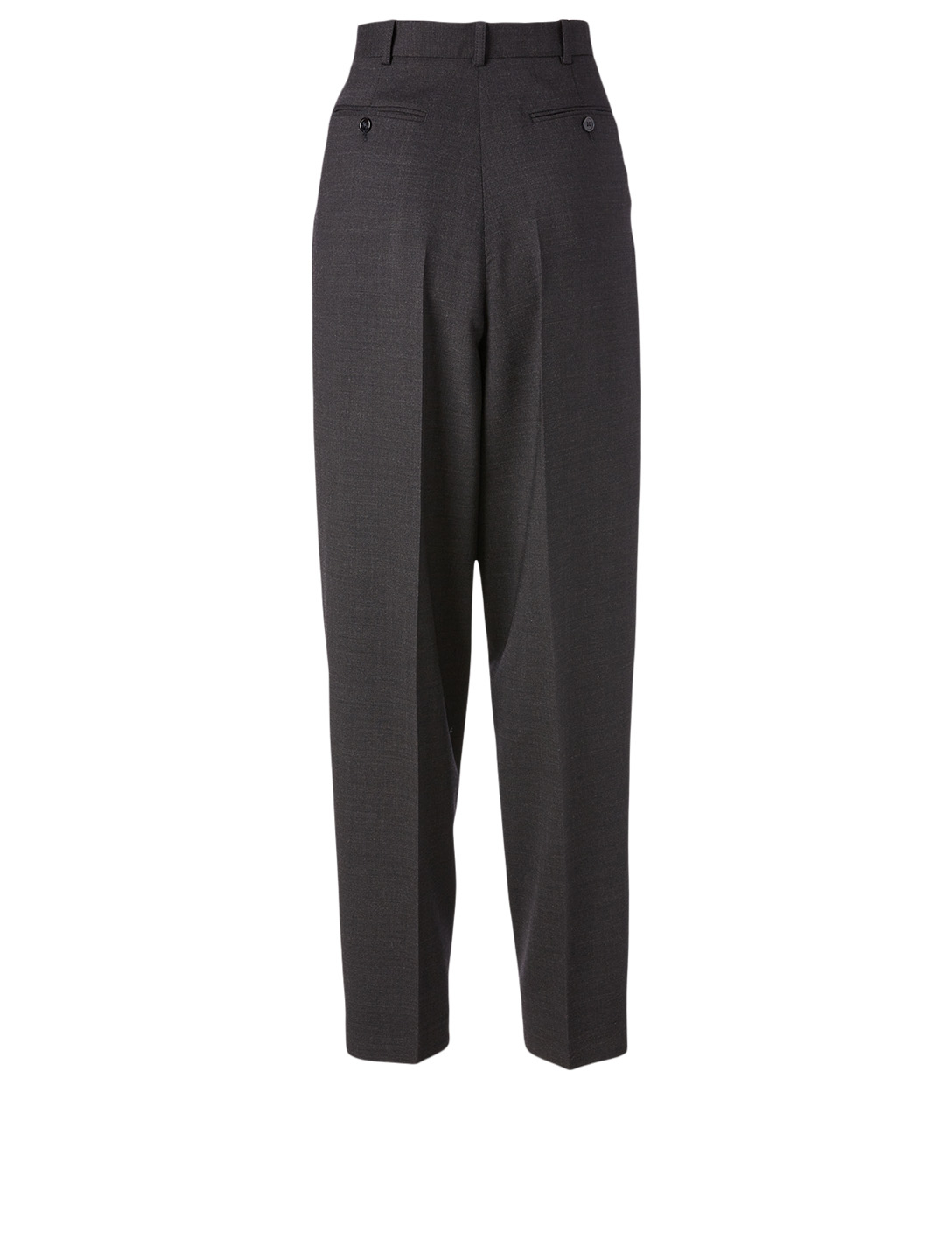 ACNE STUDIOS Wool-Blend Tapered Pants Women's Grey