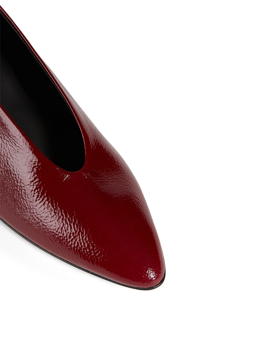 GRAY MATTERS Gemma Patent Leather Pumps Women's Red