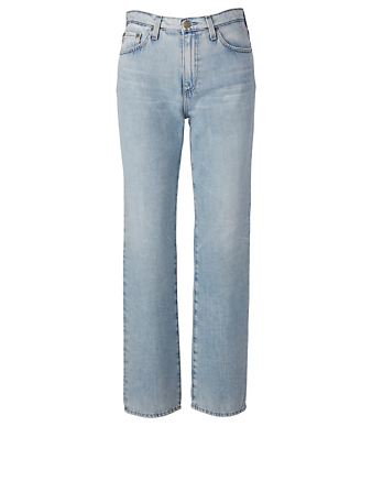 AG Alexxis High-Waisted Jeans Women's Blue