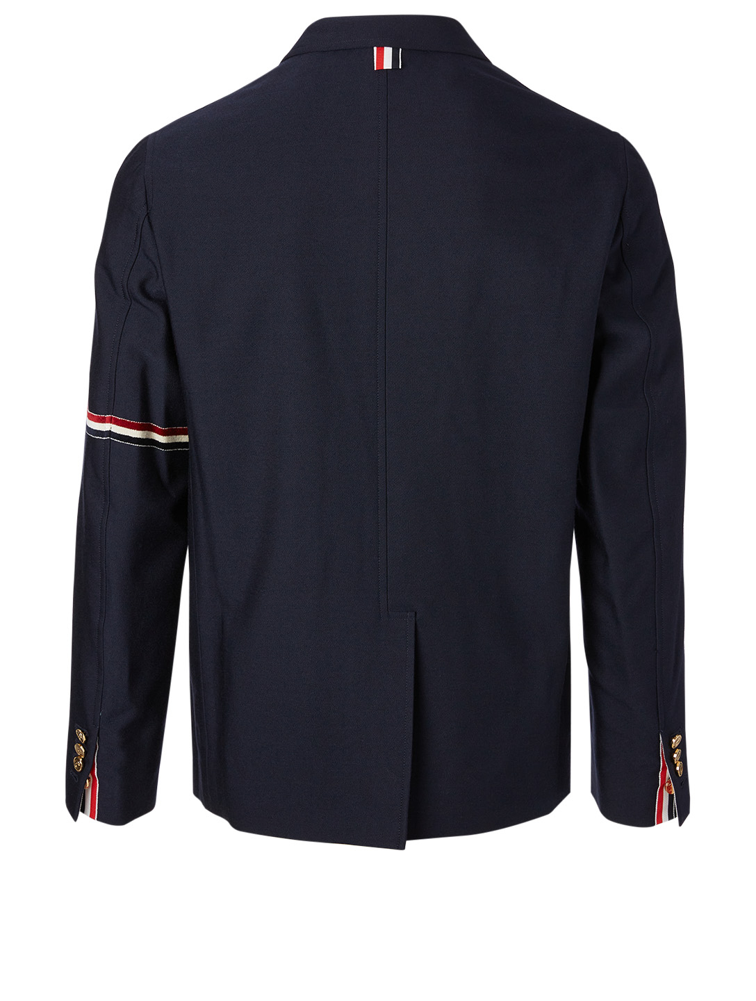 THOM BROWNE Wool-Blend Jacket With Patch Pockets Men's Blue