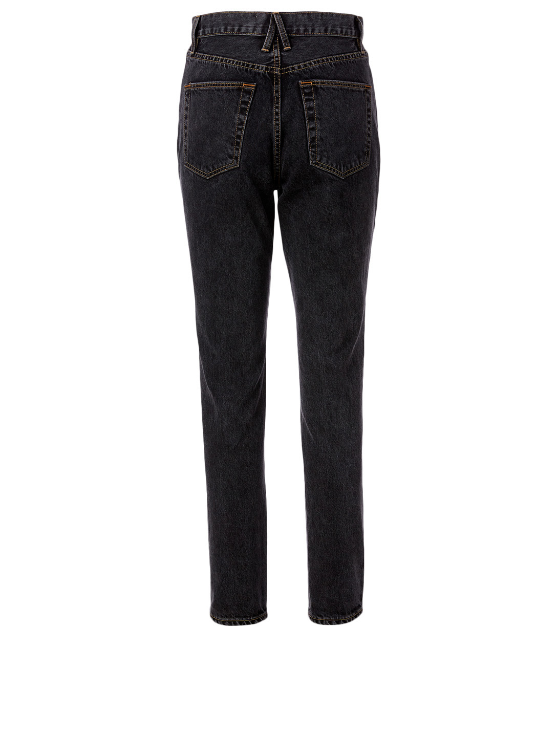 SLVRLAKE Beatnik Slim High-Waisted Jeans Women's Black