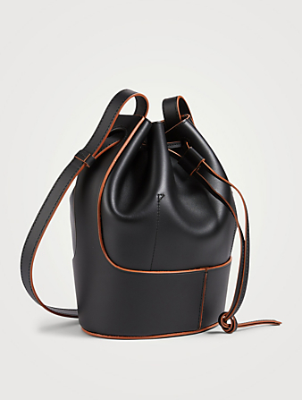 LOEWE Small Balloon Leather Bag Women's Black