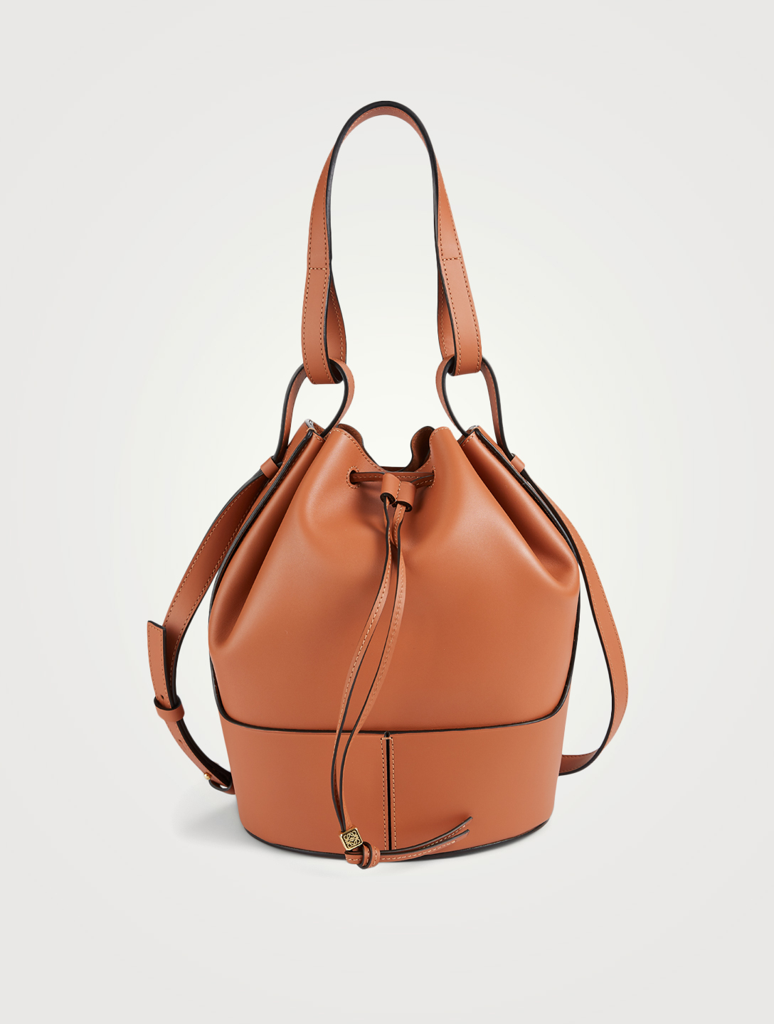 LOEWE Medium Balloon Leather Bag Women's Brown
