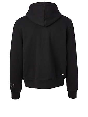 AMIRI Stitch Logo Cotton Hoodie Men's Black