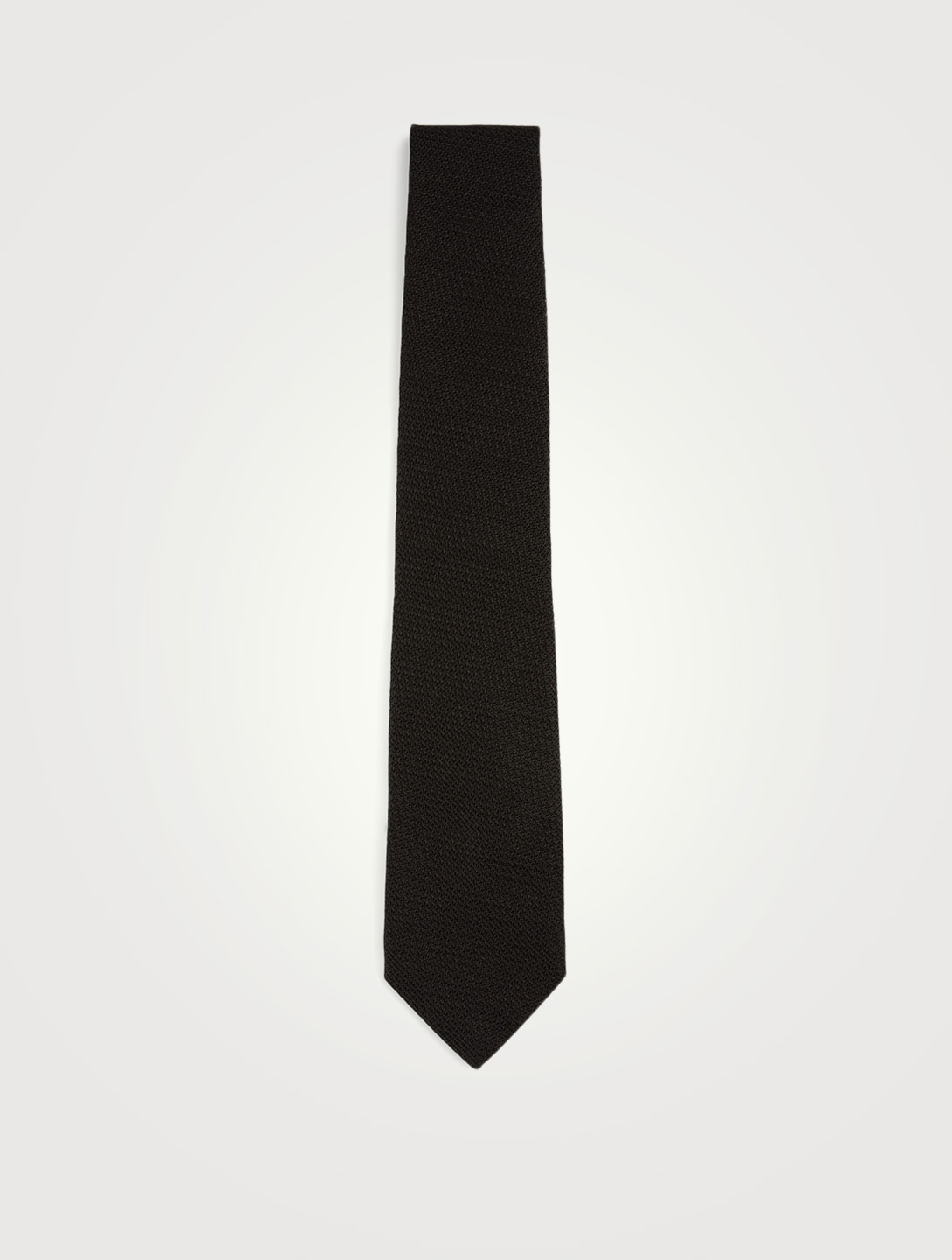 TOM FORD Thin Knit Tie Men's Black