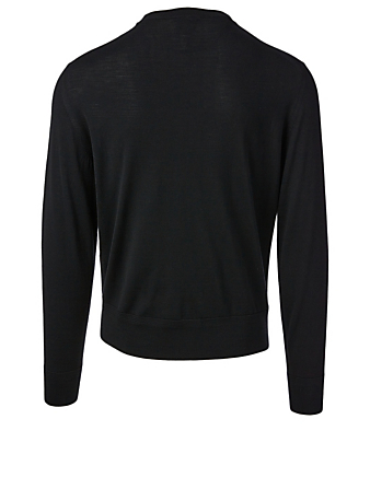 TOM FORD Wool Crewneck Sweater Men's Black