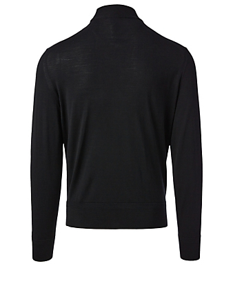 TOM FORD Wool Mockneck Sweater Men's Black