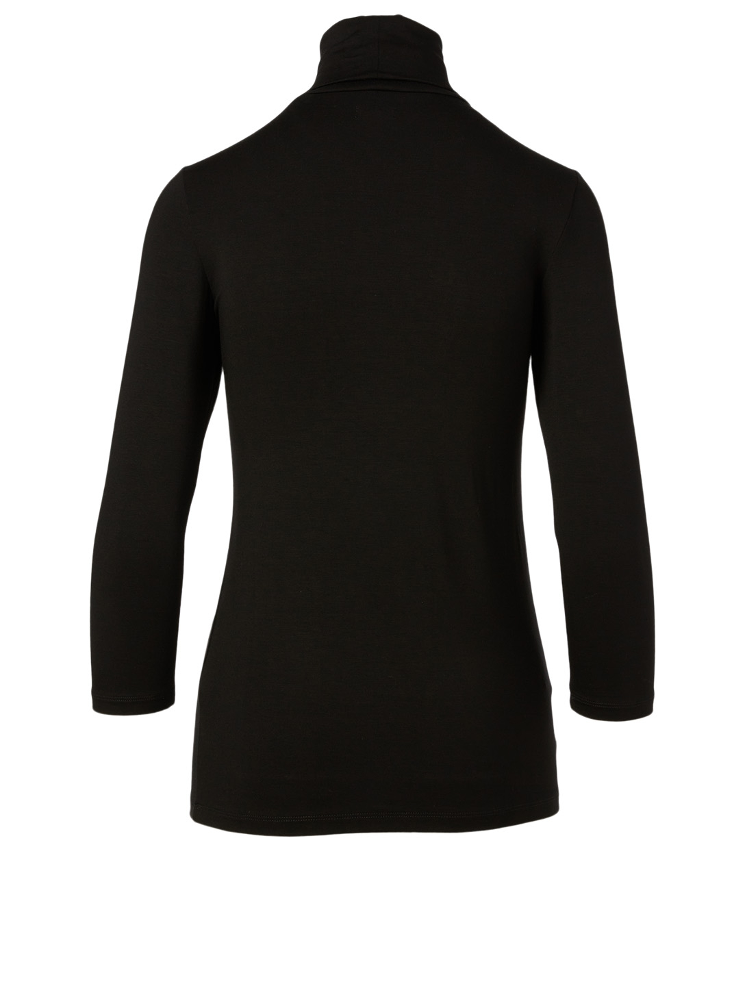 L'AGENCE Aja Turtleneck Top Women's Black