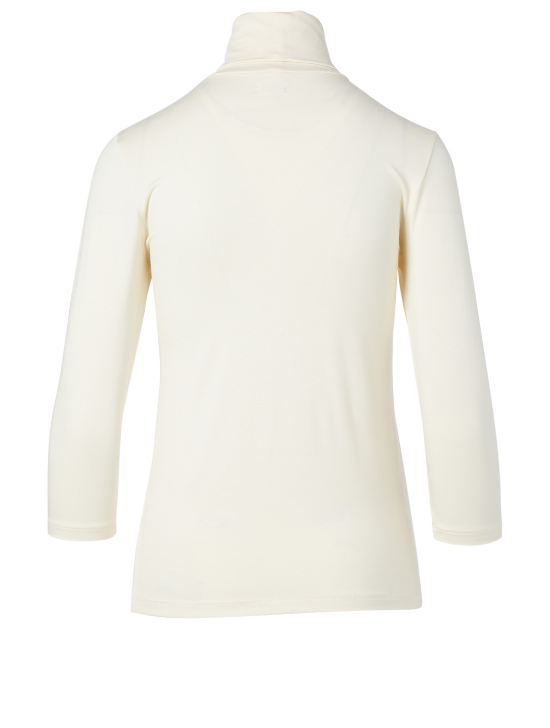 L'AGENCE Aja Turtleneck Top Women's White