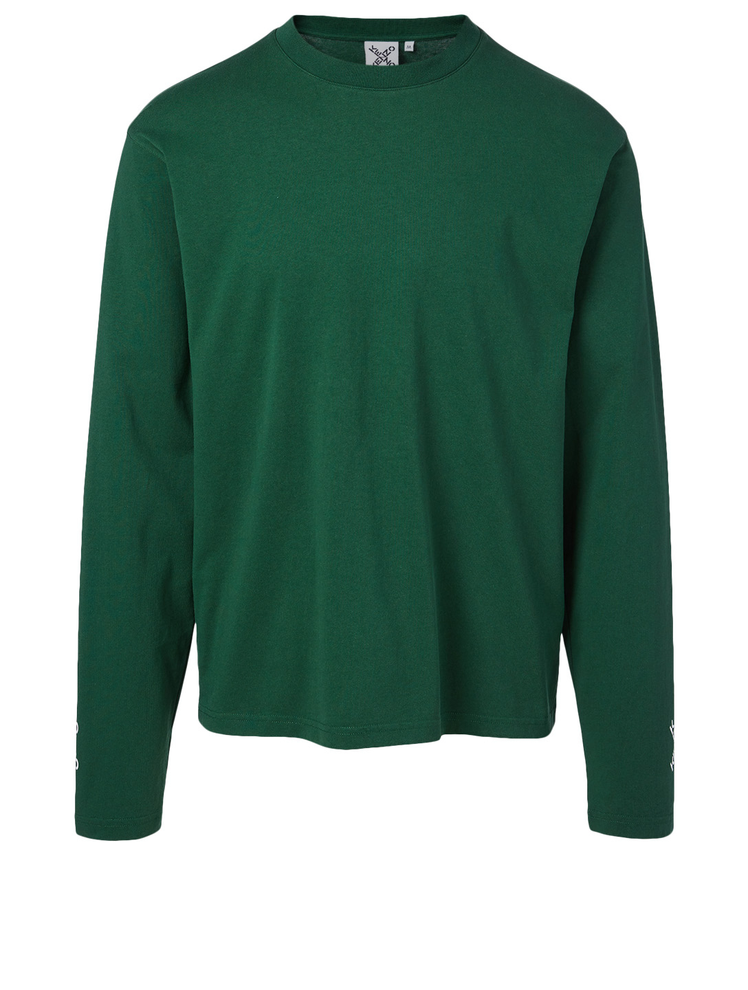 KENZO Cotton Long-Sleeve T-Shirt Men's Green