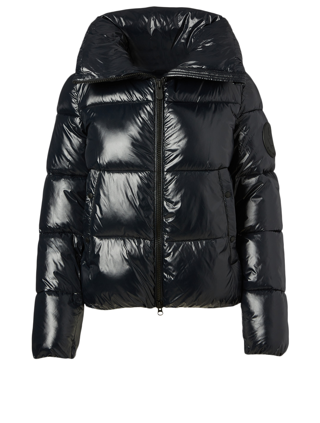 SAVE THE DUCK Luck Oversized Puffer Jacket With Stand Collar Women's Black