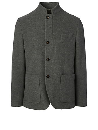 ELEVENTY Wool And Cashmere Jacket Men's Grey