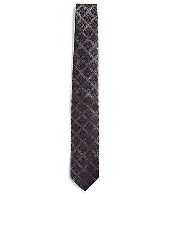 CANALI Silk Printed Tie Men's Multi