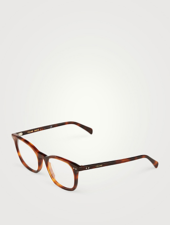 CELINE Square Optical Glasses Women's Black
