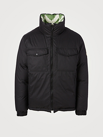 MONCLER Kolyma Reversible Down Puffer Jacket Men's Green