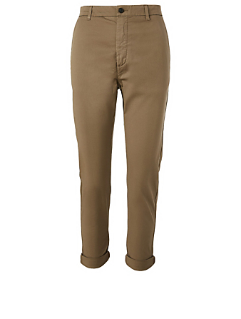 HOPE News Edit Cotton Stretch Pants Women's Beige