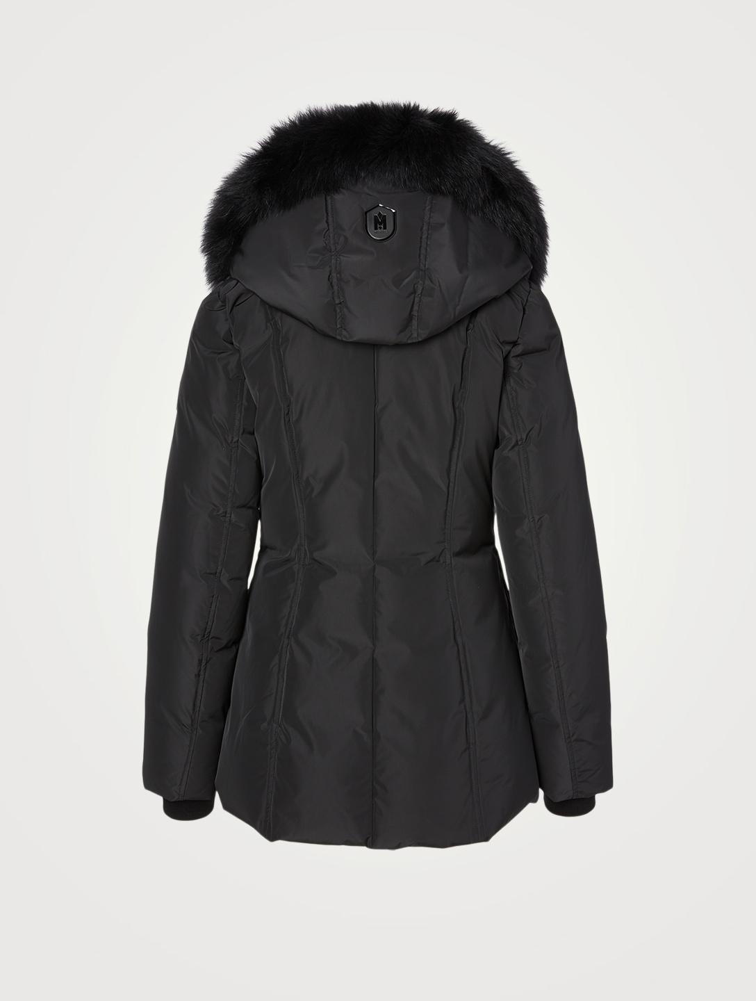 MACKAGE Adali Down Coat With Fur Collar Women's Black