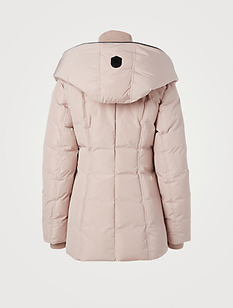 MACKAGE Adali Down Coat With Collar Women's Pink