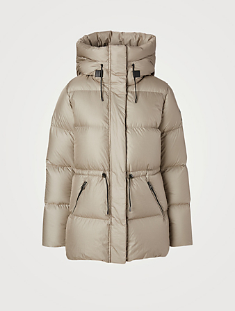 MACKAGE Freya Foil Shield Down Coat Women's Beige