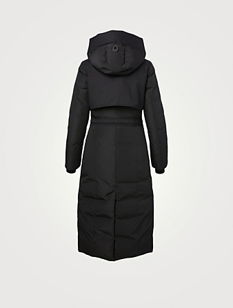 MACKAGE Leanne Long Down Coat Women's Black
