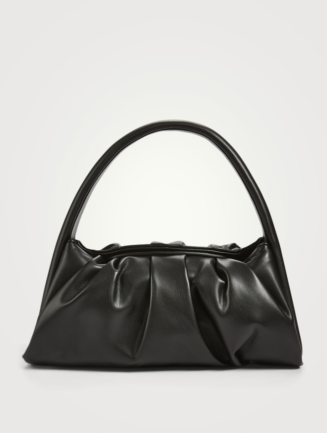 THEMOIRE Hera Basic Eco Leather Bag Women's Black