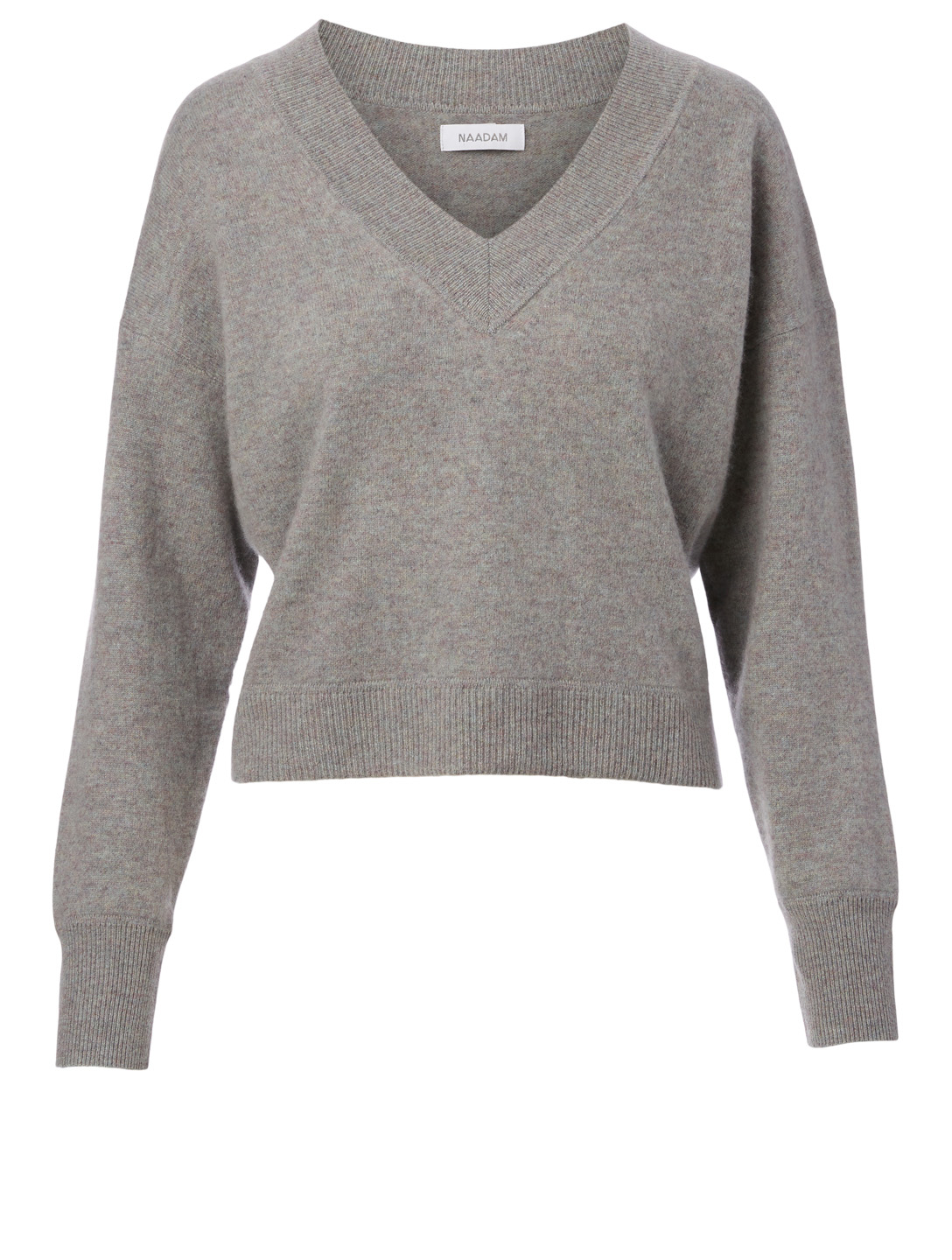 NAADAM Cashmere V-Neck Sweater H Project Grey
