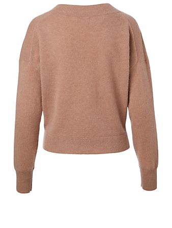 NAADAM Cashmere V-Neck Sweater H Project Brown