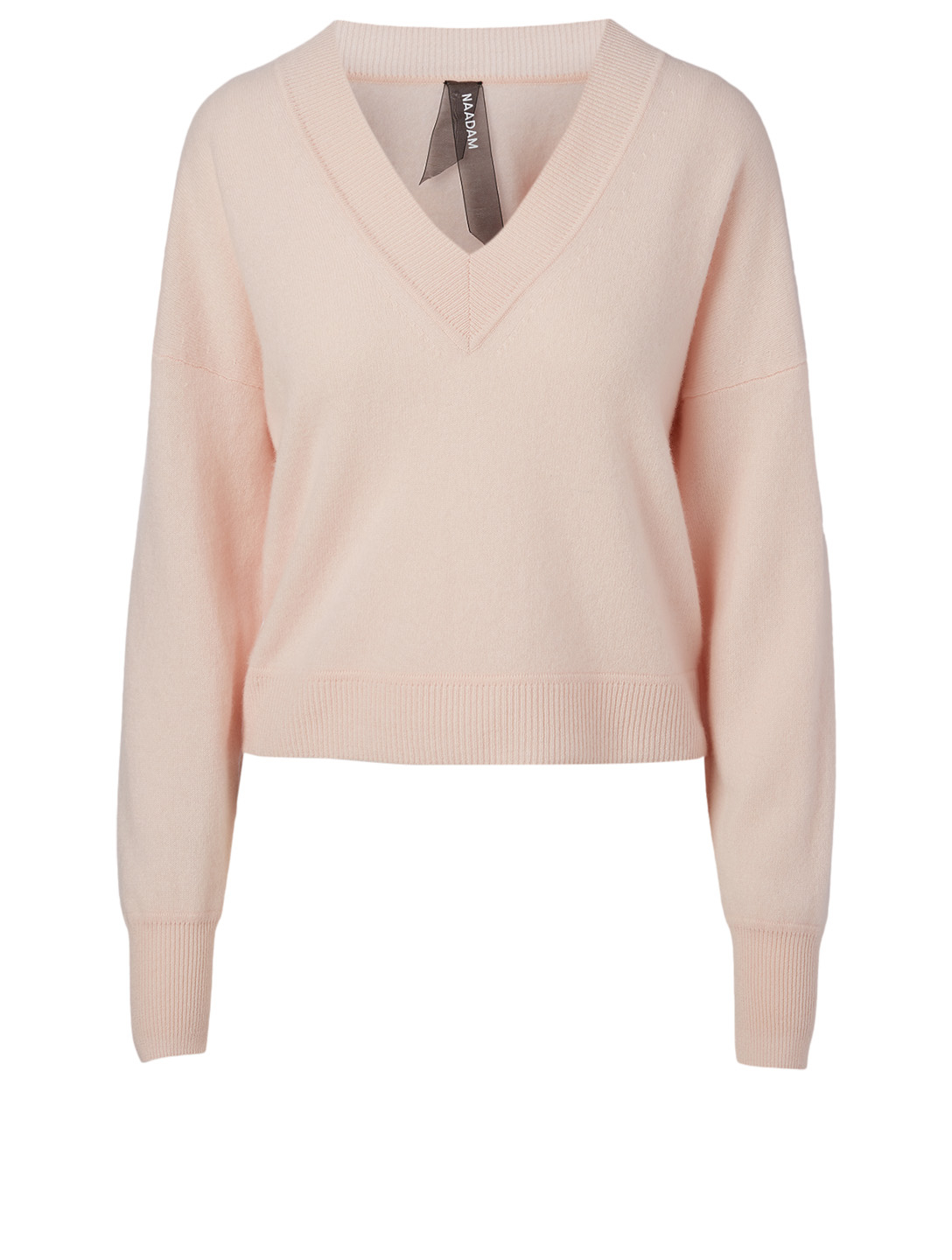 NAADAM Cashmere V-Neck Sweater H Project Pink